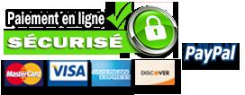 Les données sensibles de toutes les transactions effectuées sur ce site sont encryptées et sécurisées à l'aide d'une connexion chiffrée via un certificat SSL.